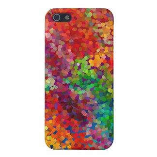 Choque de la teoría del color iPhone 5 cárcasas