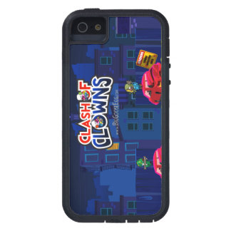 Choque del caso del iPhone de los payasos iPhone 5 Case-Mate Cárcasas