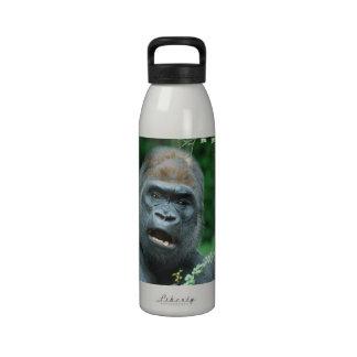 Choque del gorila botellas de beber