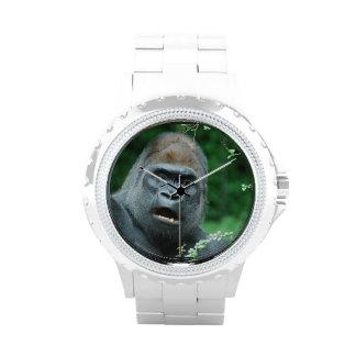 Choque del gorila relojes de mano