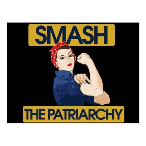 Choque el patriarcado postales