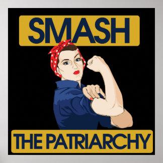Choque el patriarcado póster