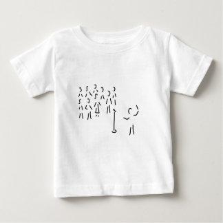 chor-gesang con dirigent playera de bebé