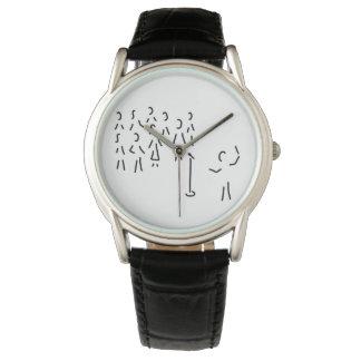 chor-gesang con dirigent relojes de pulsera