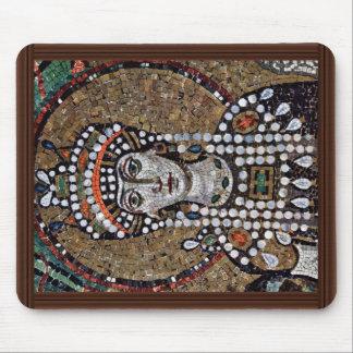 Chor Mosaics At San Vitale In Ravenna, Szene: Empr Mousepads