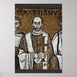 Chor Mosaics At San Vitale In Ravenna, Szene: Kais Posters