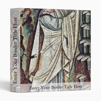 Chor Mosaics At San Vitale In Ravenna, Szene: Mose Binders