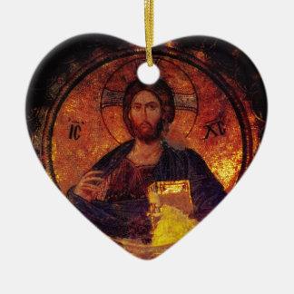 Chora Christ Ceramic Ornament