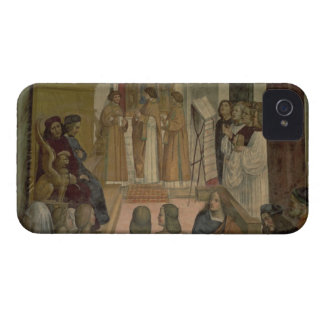 Choral Scene, from the Life of St. Benedict (fresc iPhone 4 Case-Mate Cases