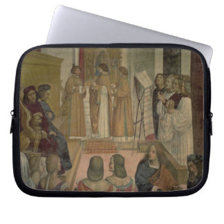 Choral Scene, from the Life of St. Benedict (fresc Laptop Computer Sleeve
