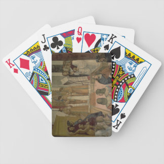 Choral Scene, from the Life of St. Benedict (fresc Bicycle Card Decks