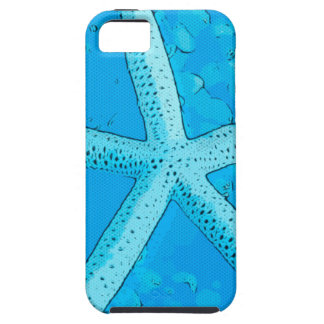 Choral Starfish Blue iPhone 5 Covers