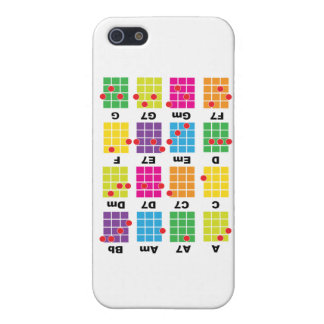 Chord Cheat Tee White iPhone 5 Cases