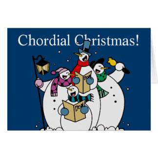Chordial Christmas Card