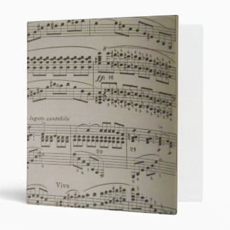 Chords and Arpeggios 3 Ring Binder