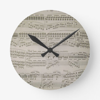 Chords and Arpeggios Clock
