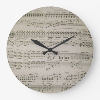 Chords and Arpeggios Large Clock