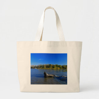 Chords of Peace Large Tote Bag