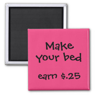 Chore Rewards for Kids 2 Inch Square Magnet