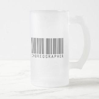Choreographer Bar Code Mug