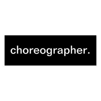 Choreographer Business Card