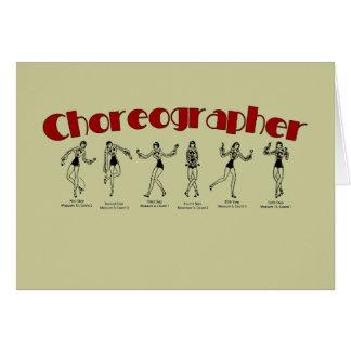Choreographer Card