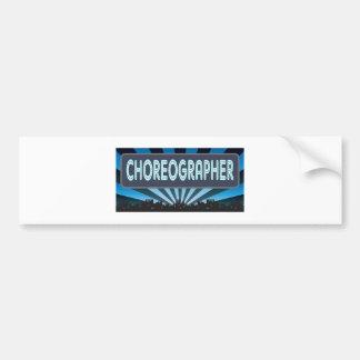 Choreographer Marquee Bumper Sticker