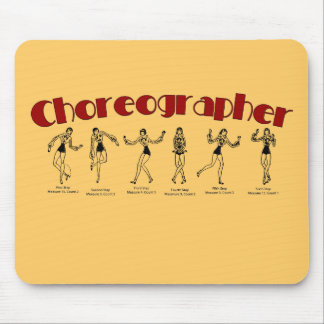 Choreographer Mouse Pad