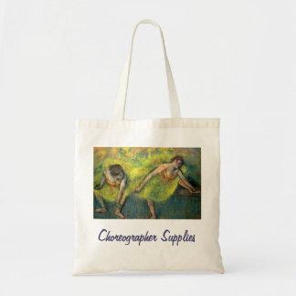 Choreographer Supplies Tote Bag