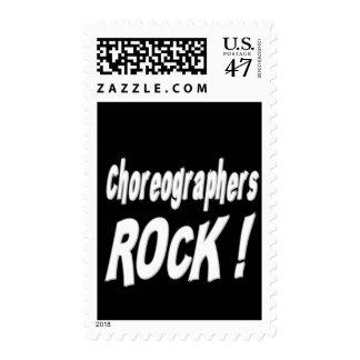 Choreographers Rock ! Stamp