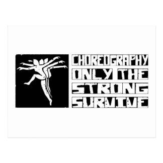 Choreography Survive Postcard