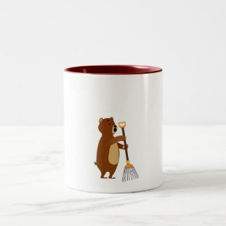 Chores and Snores Two-Tone Coffee Mug