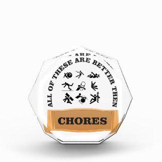 chores are bad award