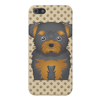 Chorkie Cartoon Covers For iPhone 5