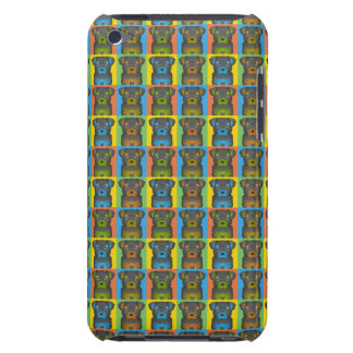 Chorkie Dog Cartoon Pop-Art Barely There iPod Cases