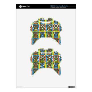 Chorkie Dog Cartoon Pop-Art Xbox 360 Controller Decal