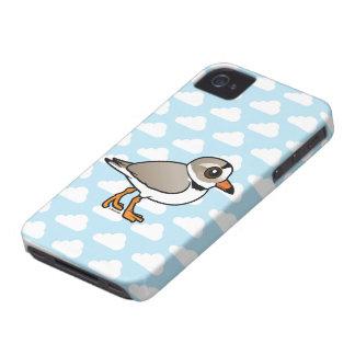 Chorlito aflautado de Birdorable Carcasa Para iPhone 4
