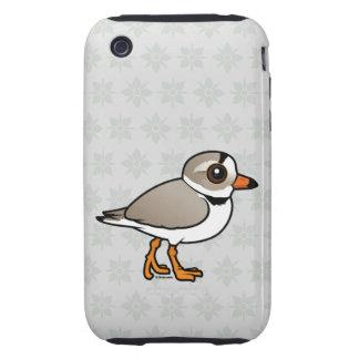 Chorlito aflautado de Birdorable Carcasa Though Para iPhone 3