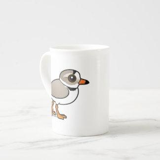 Chorlito aflautado de Birdorable Taza De Porcelana