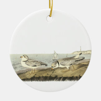 Chorlito aflautado, Juan Audubon Adorno De Navidad