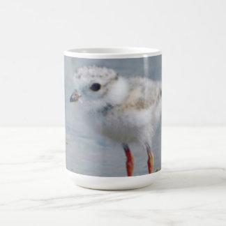 Chorlito aflautado taza básica blanca