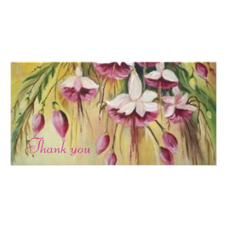 CHOROES- thnk you card Personalized Photo Card