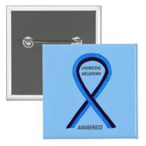 Choroidal Melanoma Awareness Ribbon Angel Pin