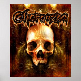 Choronzon Demon Skull Print