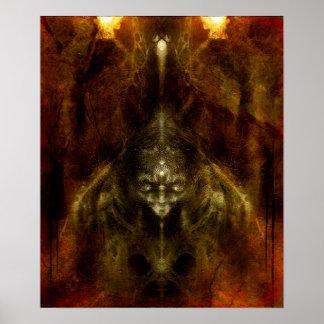 Choronzon Sanctum Print