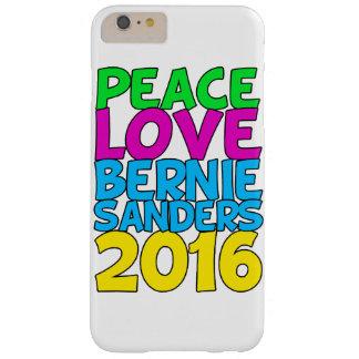 Chorreadoras 2016 de Bernie del amor de la paz Funda Para iPhone 6 Plus Barely There