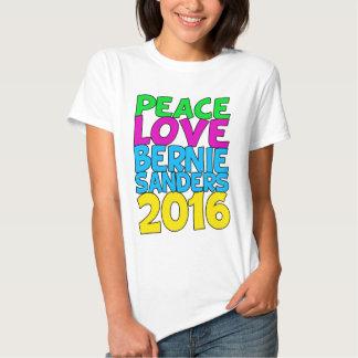 Chorreadoras 2016 de Bernie del amor de la paz Remera