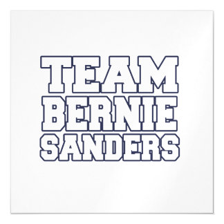Chorreadoras de Bernie del equipo