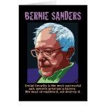 Chorreadoras de Bernie Felicitacion