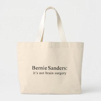 Chorreadoras de Bernie: no es neurocirugía Bolsa De Tela Grande